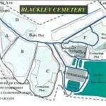 Blackley cemetery map woodland